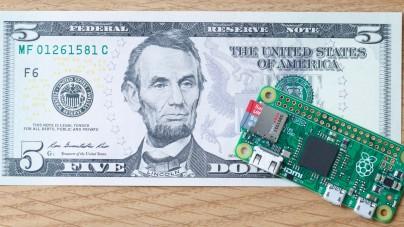 La Raspberry PI 0, une Raspberry Pi à 5€